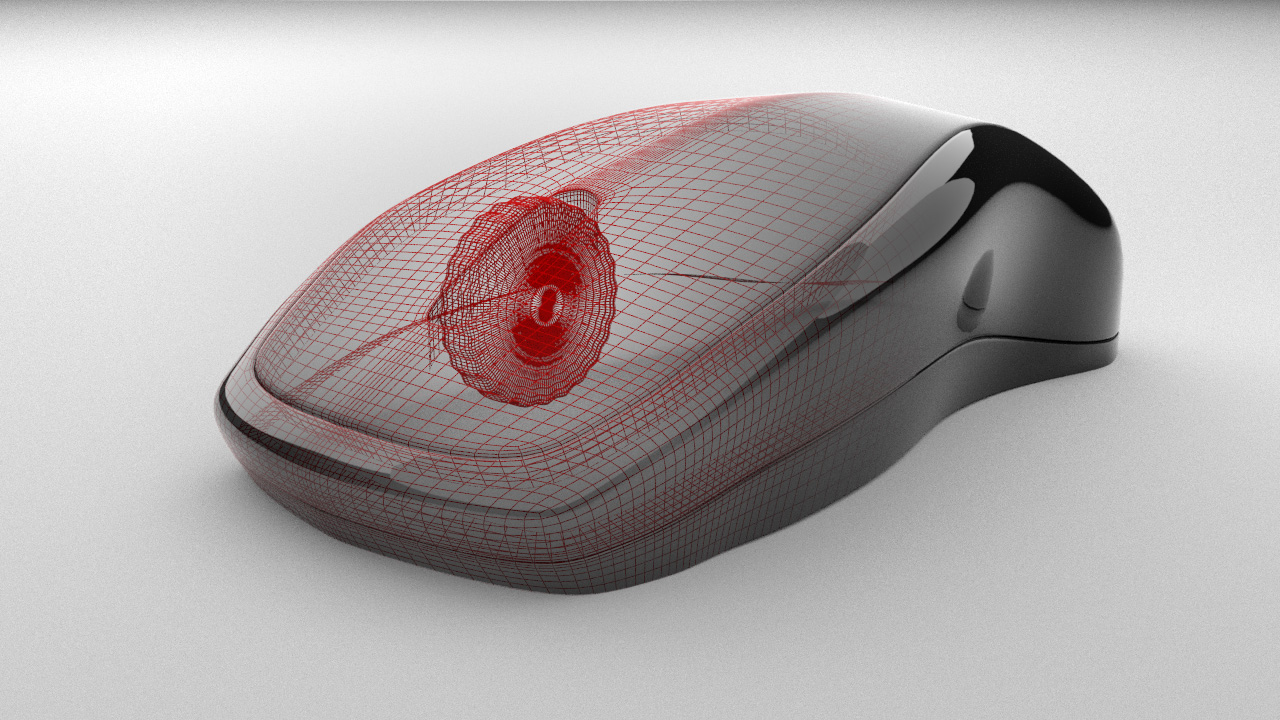 Mouse Wireframe Image