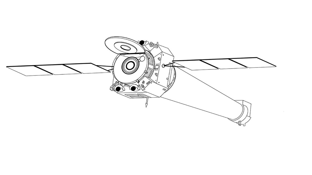 3d modeled telescopes