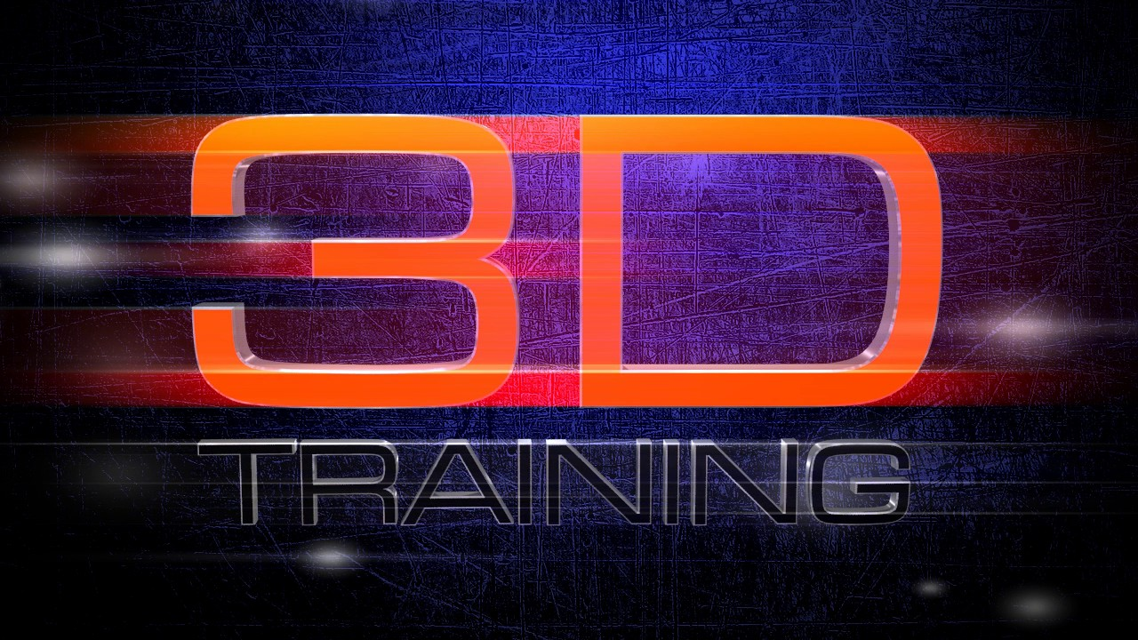 3D Traing Animated Logo video clip