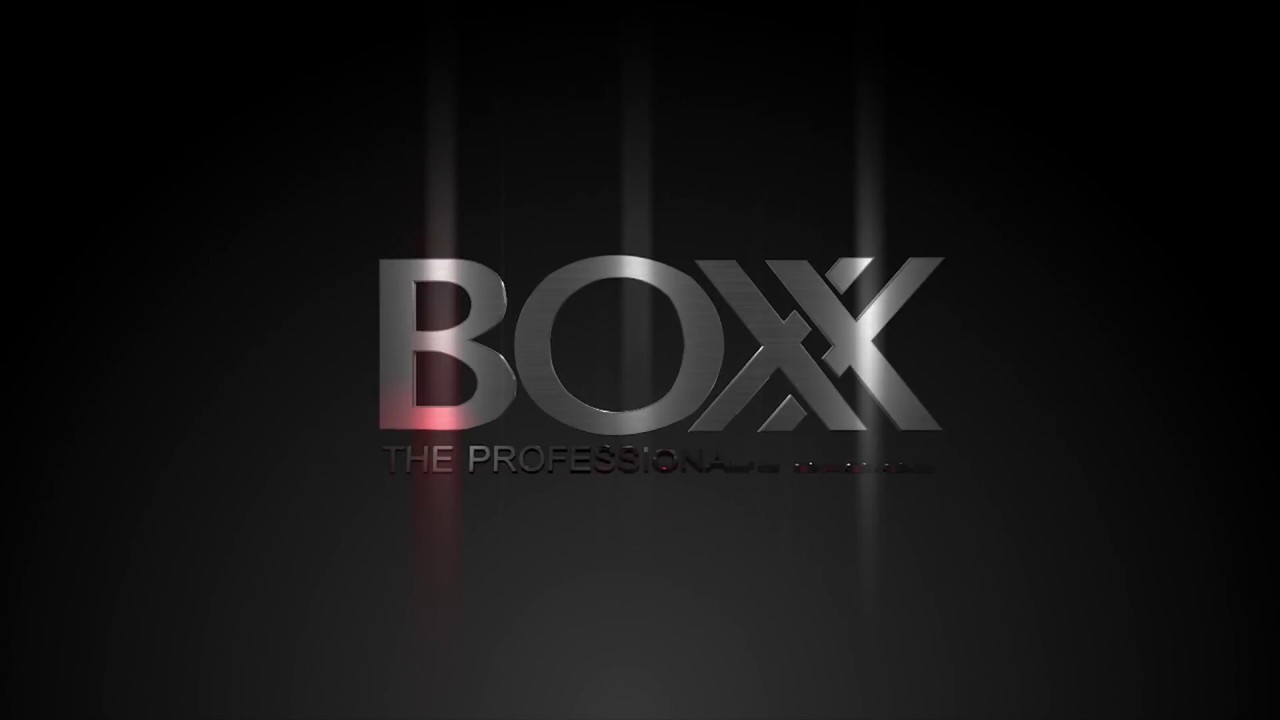 Boxx Logo Animation video clip