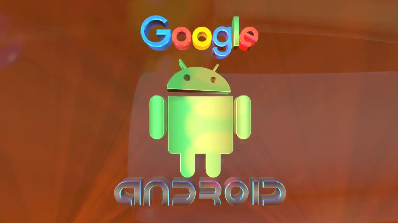 Google and Android Logo video clip